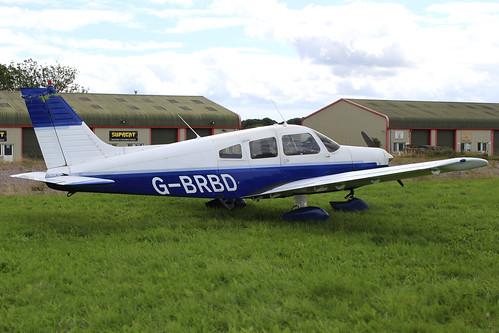 G-BRBD - Piper Warrior_  Dunkswell