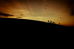 At the end of the day... (No longer active. Search 'Colin Gallagher | Photog) Tags: family sunset people newmexico silhouette colin landscape fun sand nikon whitesands dunes roadtrip gallagher d700 colingallagher