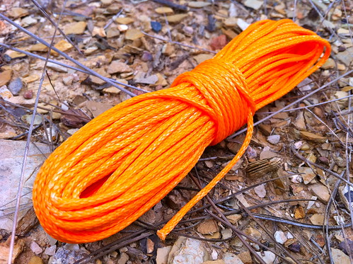 Hi-viz 2mm Dyneema Guywire Cord (1,000lbs)