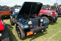 """Jeep Wrangler - YJ - License Plate """"MY SON IS A MARINE"""" (geepstir) Tags: pictures jeep photos pennsylvania pa photographs butler captures bantam bantamjeep bantamjeepfestival bantamjeepheritagefestival"""