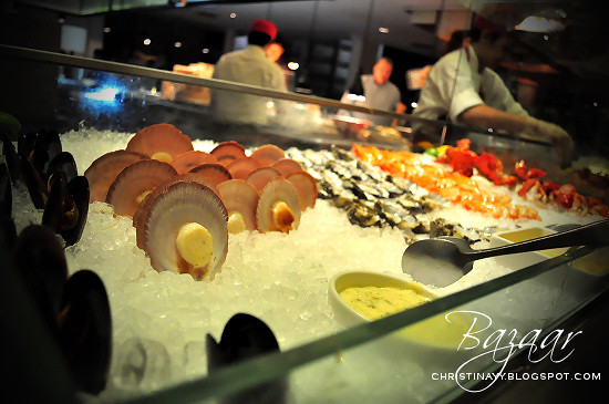 Bazaar Restaurant: Seafood Buffet and Birthday Celebration