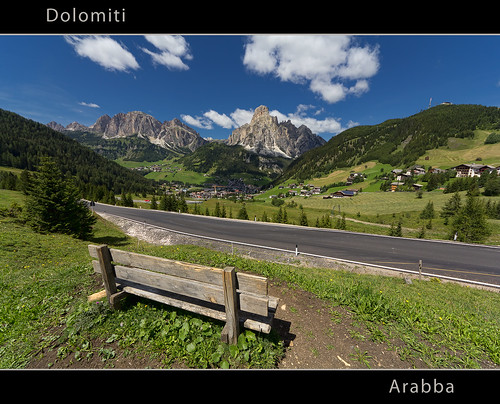 Arabba - Dolomites - UNESCO World Heritage Site