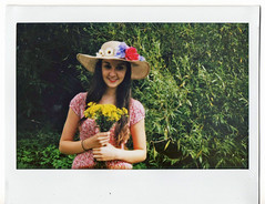 (polaroid) (kitty') Tags: flowers polaroid simply breezy lighthearted summery