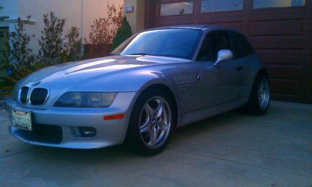 2001 Z3 Coupe | Titanium Silver | Black | Z3 with M Roadstars