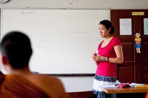 Sarah Teaching English 3