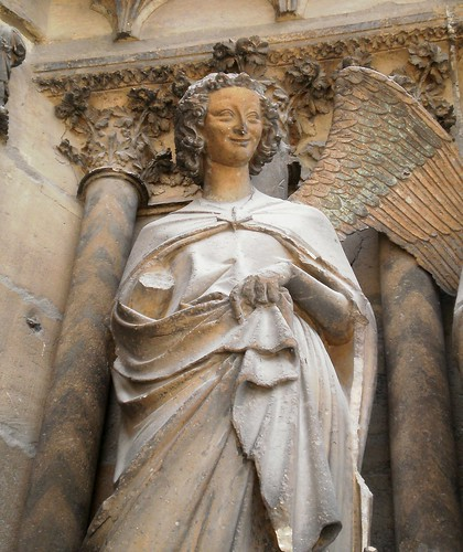 Reims Cathedral Sculpture Reims Cathedral France