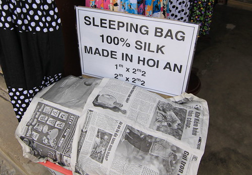 'Made In Hoi An' sleeping bag