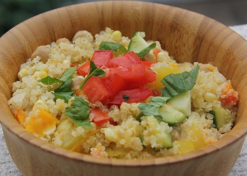 quinoa tomato medley