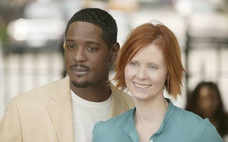Blair Underwood and Cynthia Nixon