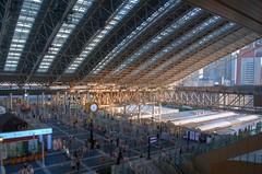 Osaka Sta. (sinkdd) Tags: station japan nikon jr osaka canopy hdr osakastation jrwest jr  d7000 nikond7000 osakastationcity  sinkdd