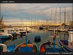 _HSC3335_bis_La_Cala (Vater_fotografo) Tags: barca tramonto mare vela palermo sicilia lacala nikonclubit vaterfotografo