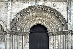 2011-08-15 Cognac, église Saint-Léger, Charente, Poitou Charentes 04 (ellapronkraft.) Tags: france architecture cognac église middleages charente moyenage artroman artromanesque churchsaintléger
