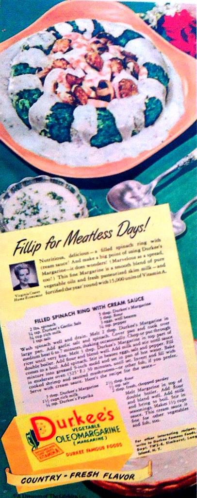 Durkee's Margarine 1948
