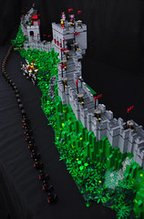 Great Wall of China (Si-MOCs) Tags: china wall lego great foitsop
