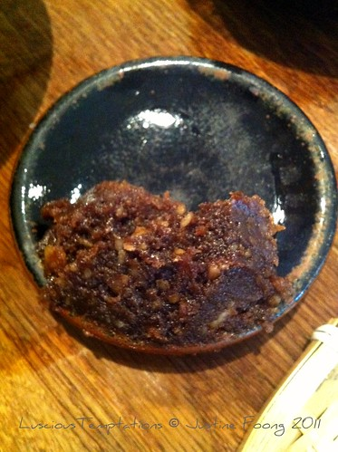 Walnut Miso  - Koya, Soho