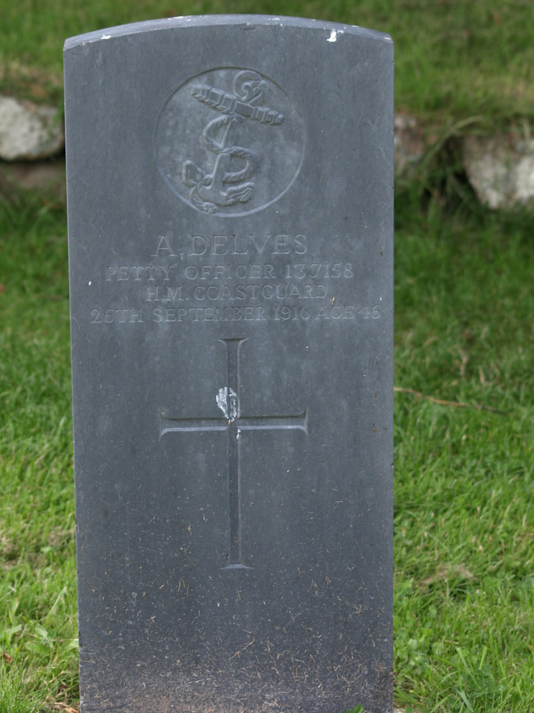 War Grave of A. Delves