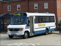 Galloway (HF54 NLG) (Colin H,) Tags: bus beaver mercedesbenz ipswich galloway ibp plaxton ocm mendlesham ipswichbuspage 0814d colinhumphrey hf54nlg