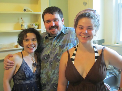 Sara, Adam and Ena