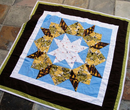Swoon Baby Boy Quilt- top
