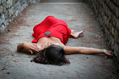 So silent (fromsunrisetosunset) Tags: portrait woman feet girl beautiful canon hand femme reddress supine flickraward excapture canoneos600d stunningphotogpin bestphoto4gpinsep2011