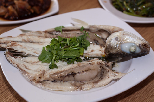 Steamed Mullet @ Seasonal Price