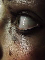 (louiseimogen) Tags: eye wet makeup away run dirty dirt scared frightened