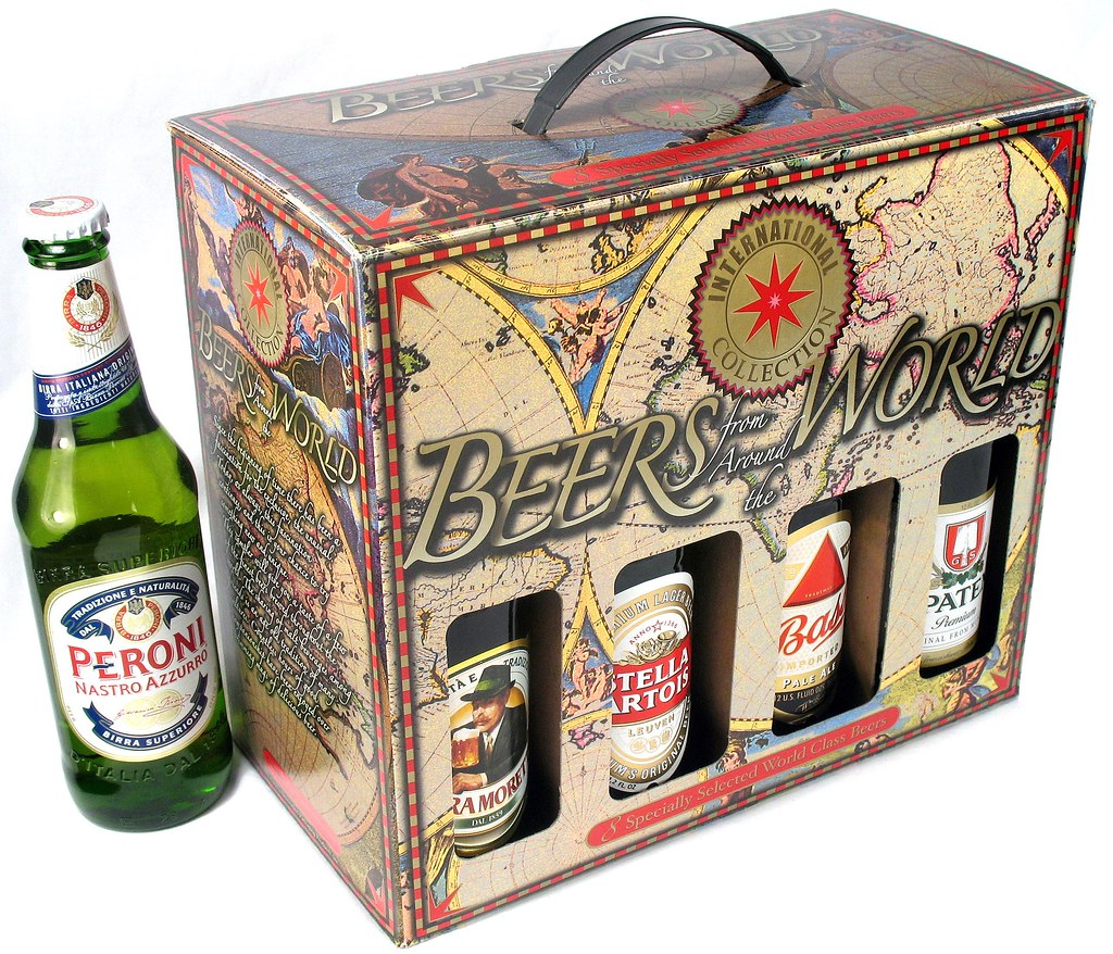 Beers Of The World 8 Pack (WineandBarware) Tags: from beer beers 8 pack