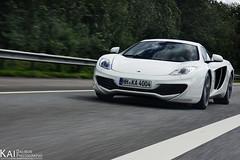 The beast is approaching! (www.kaidalibor.de) Tags: auto art car photography sony 4 fast mc mclaren kai shooting 16 mp 12 105 500 alpha rare sal laren 412 schnell weis schn dalibor selten kaxdx