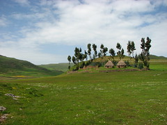 Guassa-view with Menz Village (Solimar International) Tags: tourism community ethiopia guassa