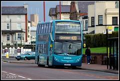 Cross River Express (Zippy's Revenge) Tags: bus northwest transport birkenhead alexander dennis wallasey wirral newbrighton merseyside arriva 4422 enviro400 lairdstreet crossriverexpress cx58gcf