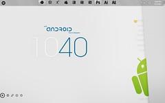 Androidness (abidouisme) Tags: desktop windows start icons 7 button customization rainmeter