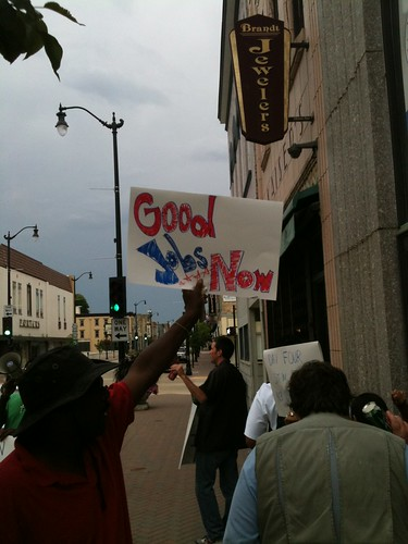 Paul Ryan Protest Day 4 Racine Pic002