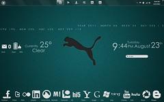 Puma (abidouisme) Tags: desktop windows ui 7 enigma puma customization rainmeter omnimo