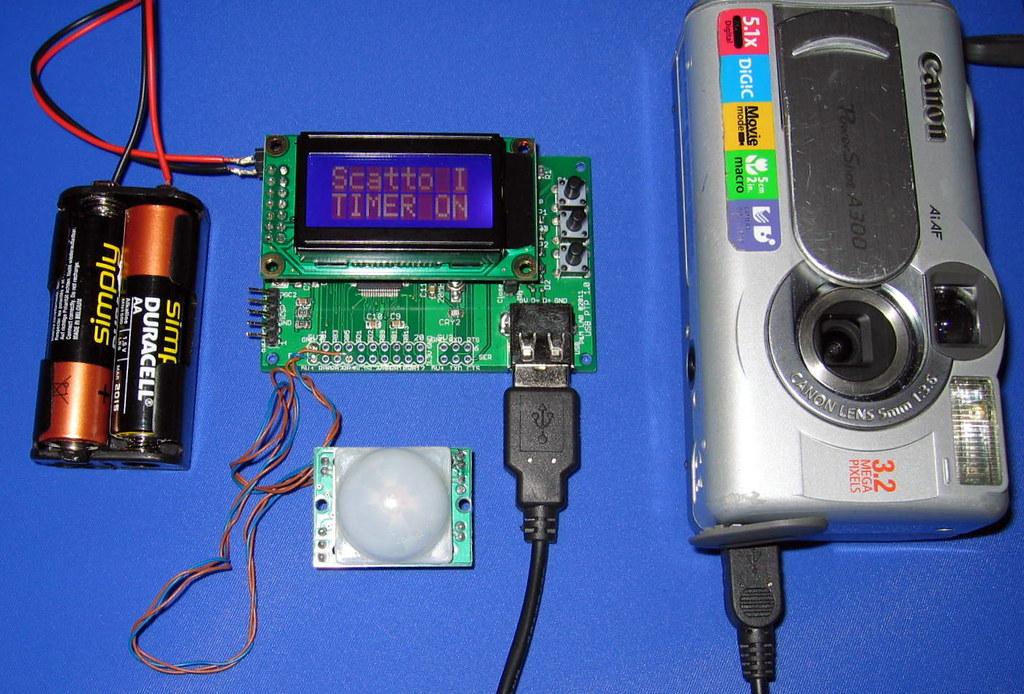 PIC24 PTP USB - Digital camera control setup #3