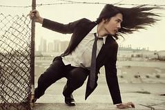 [免费图片] 人物, 男子, 头发飘飘, 201108271700