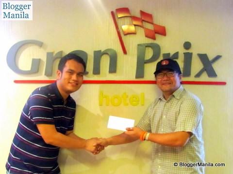 Mark Joseph Delgado chosen as Gran Prix Client's Choice