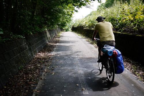 Shikotsu-Chitose Cycling Road, Hokkaido, Japan