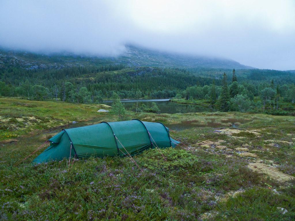 Leir i Tettingsdalen, Lausfjellet i tåka