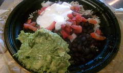 Naked Vegetarian Burrito @ Qdoba Mexican Grill (HeadGEAR56) Tags: food vegan mexican vegetarian burrito qdobamexicangrill foodspotting foodspotting:place=159028 nakedvegetarianburrito foodspotting:review=808690