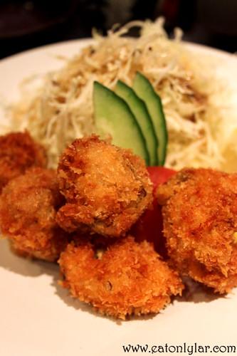 Kaki furai, Sakura Japanese Restaurant