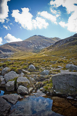 Slieve Bearnagh from the Trassey Track (bazmcq) Tags: county uk ireland mountain mountains canon eos down northernireland wonders mourne ulster mournemountains slieve 500d bearnagh ulsterway slievebearnagh trasseytrack northernirelandphotography barrymcqueen yahoo:yourpictures=skyline yahoo:yourpictures=bestofbritish yahoo:yourpictures=elements yahoo:yourpictures=landscape