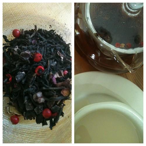 Roses et Chocolat tea by Ayala Moriel