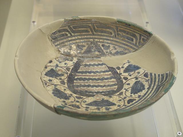 磁磚博物館蒐集的古老瓷器