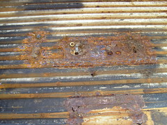 Cargo floor rust (colonel tarbet) Tags: bus yellow sierra micro