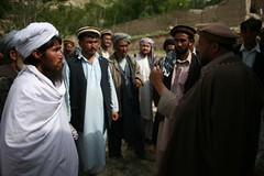 Mullah and a governor, Takhar, Afghanistan (Michal Przedlacki) Tags: afghanistan village ab governor discussion commander mullah afganistan governance takhar namak shura nasruddin