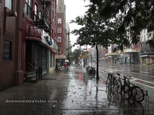 Aftermath of Hurricane Irene in NYC_2nd Avenue