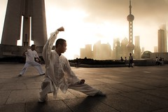 Tai Chi on the Bund (samthe8th) Tags: cool uncool cool2 cool5 cool3 cool6 cool4 matchpointwinner d700 cool7 uncool2 cool8 iceboxcool herowinner thepinnaclehof kanchenjungachallengewinner thepinnacleblog tphofweek119