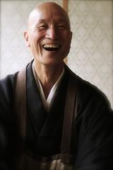 Zen Master Jinen-San (El-Branden Brazil) Tags: smile japan asian temple japanese ancient asia peace buddha kamakura religion joy happiness monk buddhism calm holy zen laugh mystical priest spirituality siddhartha nationalgeographic zazen eastasia mudra mysticism gautama zenmaster siddarta jinensan