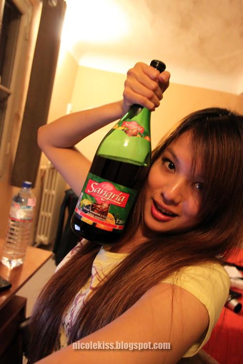 1 half litres of sangria