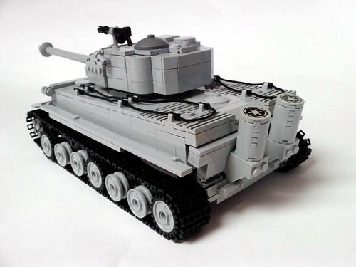 Pzkpfw VI Tiger I tank bakk